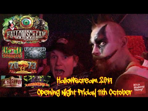 Hallowscream, York Maze, Opening Night Friday 11th October 2019