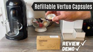 Nespresso Vertuo Reusable Caps…