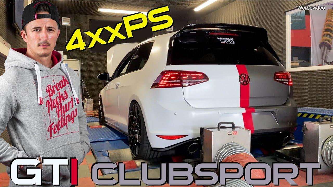 Über  400PS beim GTI Clubsport mit Originallader?