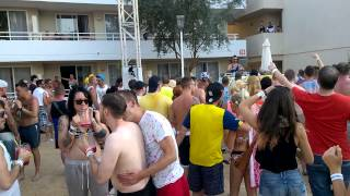 HTID, JOEY RIOT, POOL PARTY, BH MALLORCA, MAGALUF, JUNE 2015