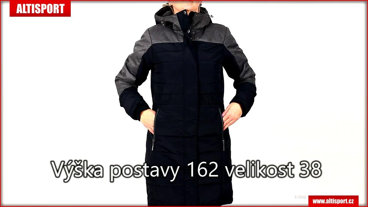 dámský zimní kabát alpine pro tessa 2 lctm061 černá - YouTube a5ea36f07b