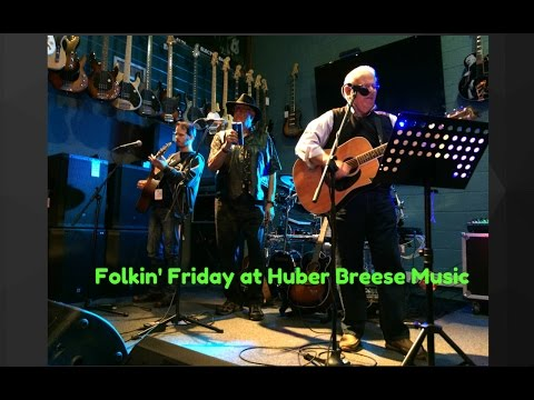 Vlog 9: Folkin Friday at Huber Breese Music
