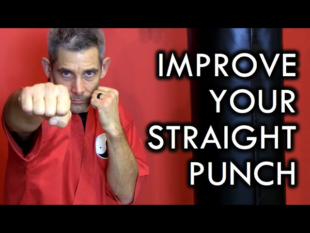 How to Punch for Martial Arts