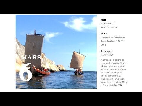 Immateriell kulturarv i Norge (1/2)