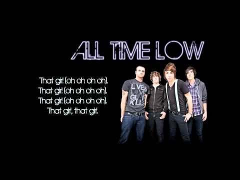 All Time Low That Girl Lyrics