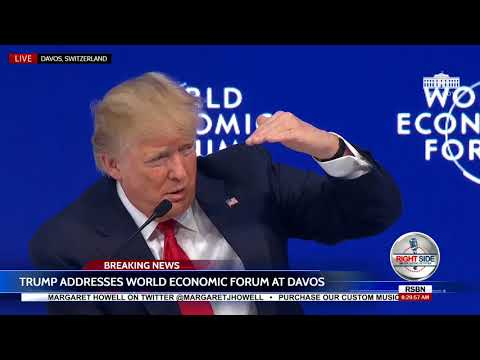 🚨WATCH: President Donald Trump Takes Questions at Davos World Economic Forum 1/26/18