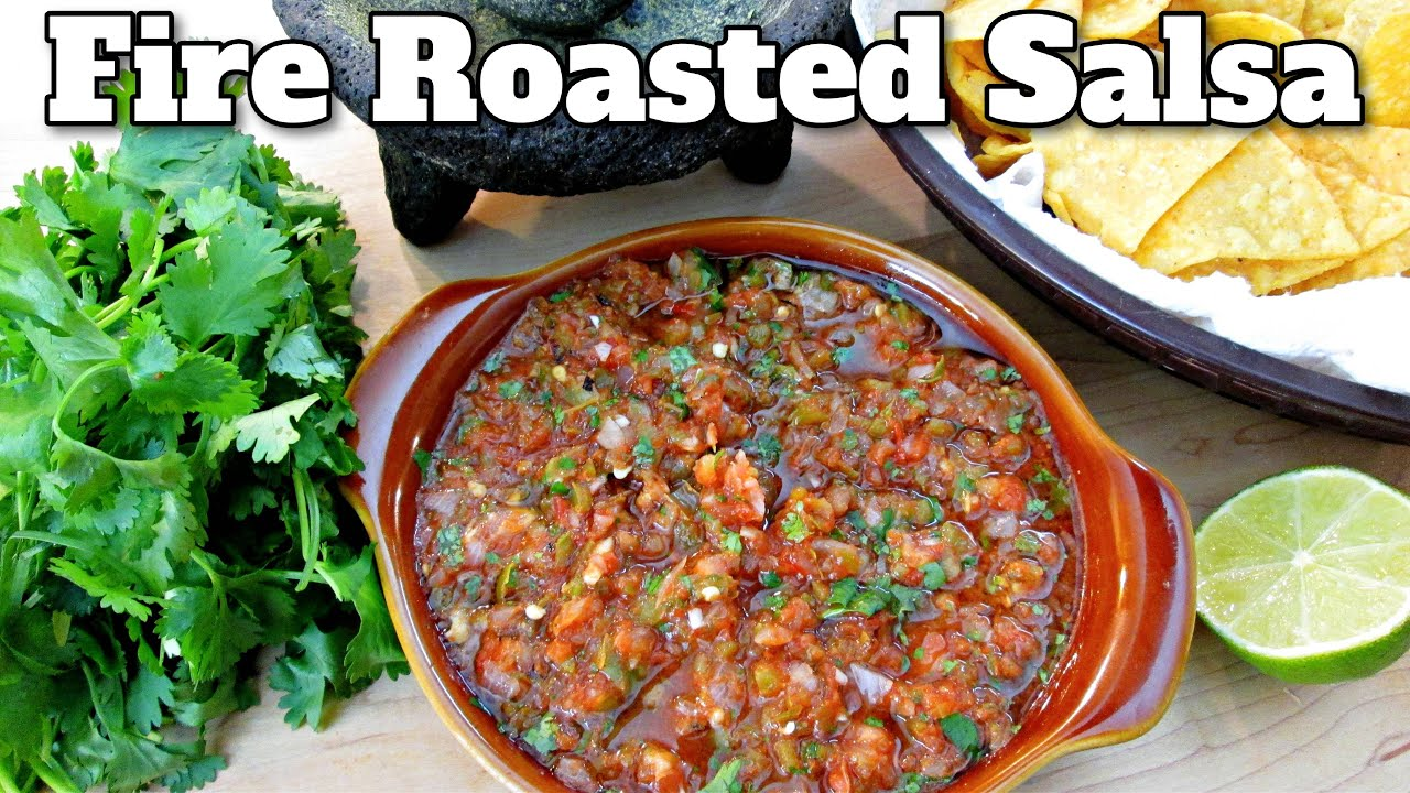 Fire Roasted Salsa - Mexican Restaurant Secrets - PoorMansGourmet