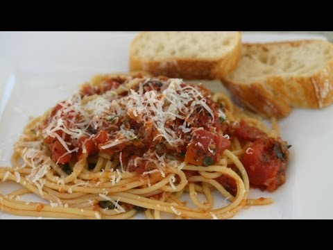 My Pasta With Bacon Tomato And Onion. Simple Yet Delicious by Rockin Robin And Milo