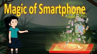 Magic Of Smartphone   English Cartoon   Magical Stories   Maha Cartoon TV English