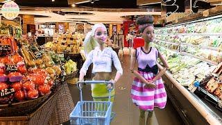 І супермаркети Барбі Ганна купити їжу для пікніка конях Історія іграшок їзда