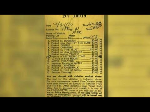 Parking ticket in Pennsylvania paid after more than 40 years