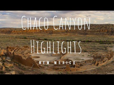 4K - Chaco Canyon Highlights - New Mexico