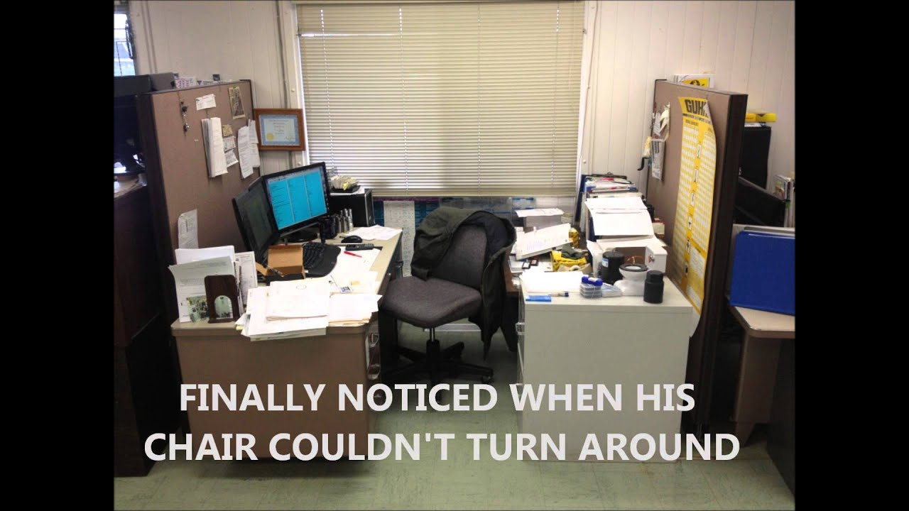 Desk Move Prank
