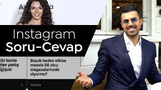 Ebru Şahin'in elbisesini nasıl yaptım?   Sevgilim var mı?   Instagramdan gelen soruları cevaplıyorum