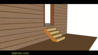 Height Of Landing Or Stairway At Exterior Door – Building Codes For Stair Builders