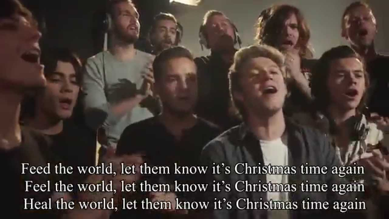Do They Know Its Christmas Time.Do They Know It S Christmas Band Aid 30 2014 Lyrics