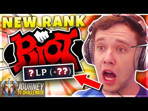 WHY DID RIOT DO THIS?????????????????? - Journey To Challenger  LoL