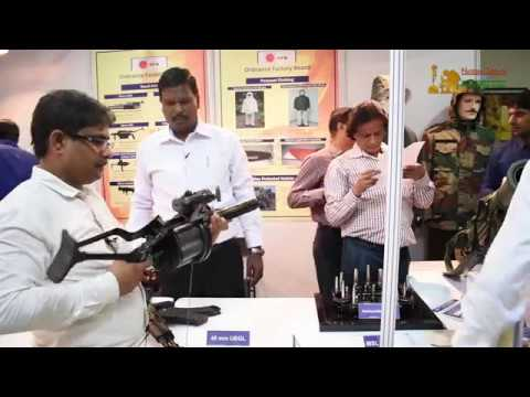 Multi Shell Launcher & 40 MM Grenade Launcher   Swadeshi By OFB