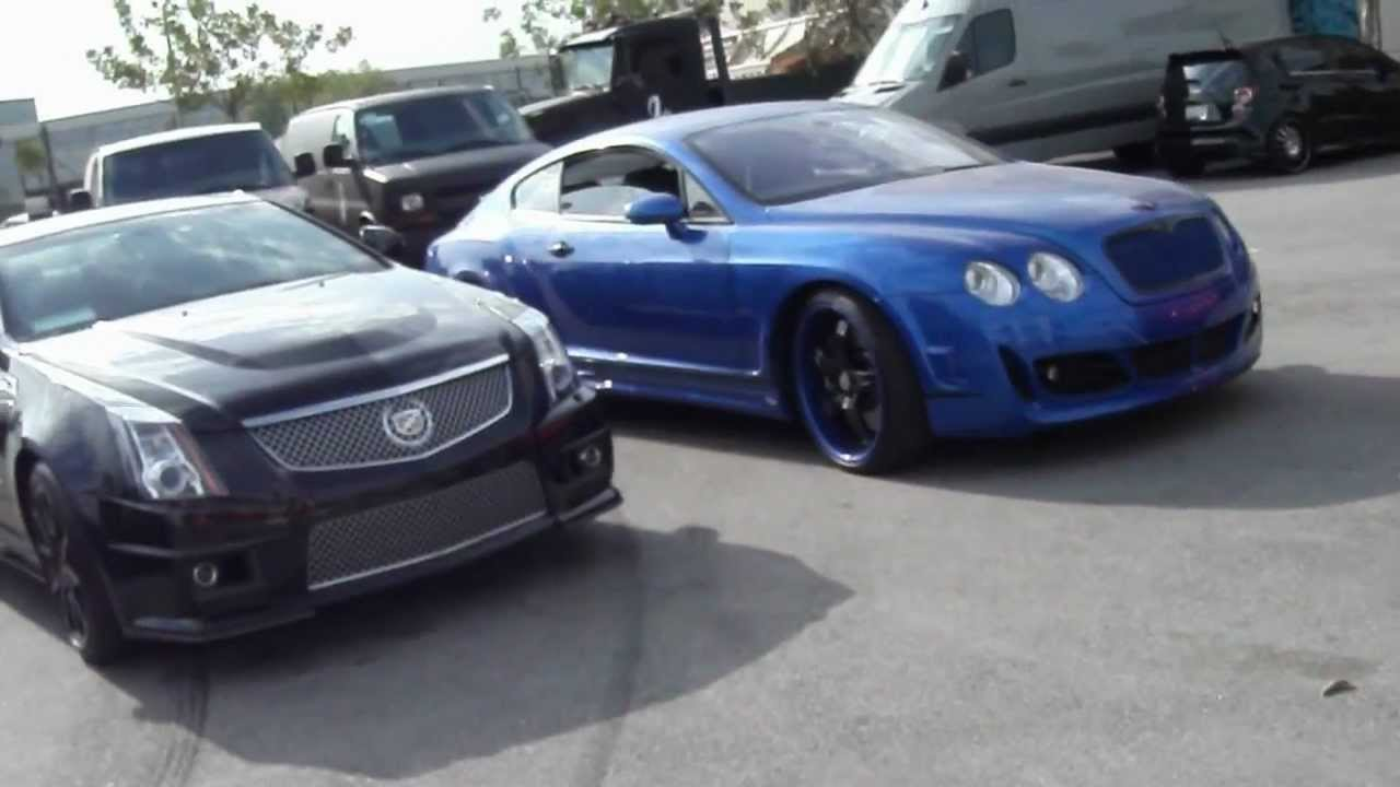West Coast Customs Cars For Sale >> Visiting West Coast Customs Monster Bentley Vette I Am Ryan S