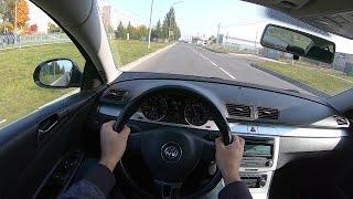 Volkswagen passat B6 POV test drive