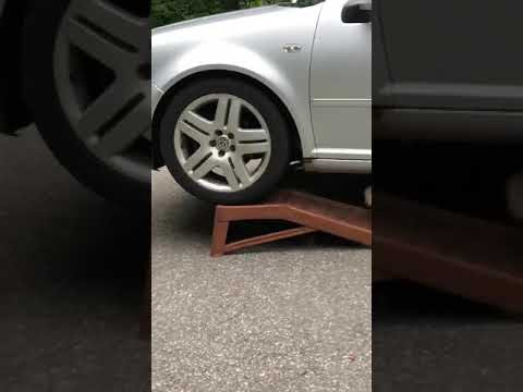 Car ramp fail