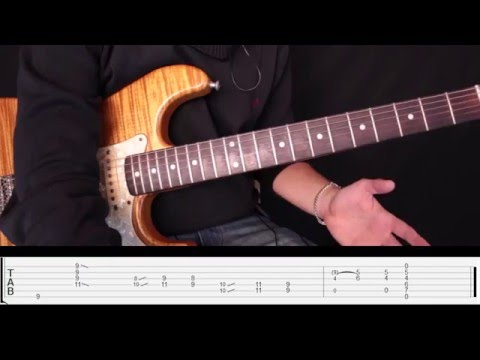 Como Tocar Slow Dancing In A Burning Room - John Mayer  Tutorial Para Guitarra Electrica