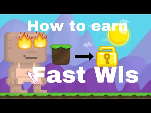 How To Earn Fast Wls? |Growtopia
