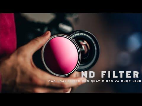 Các loại filter cho chụp ảnh và quay phim | Sử dụng ND FILTER cho quay video