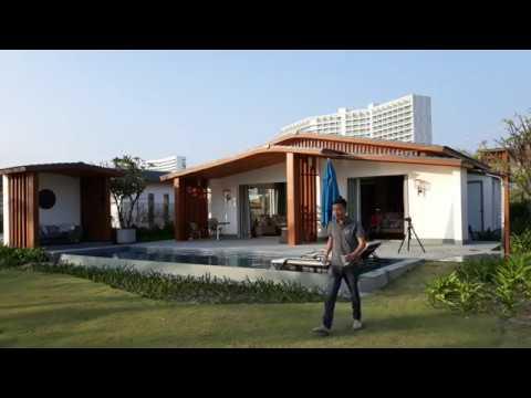 Hậu trường chụp bể bơi tại Radisson Blu Resort Cam Ranh   Phương Đông TV