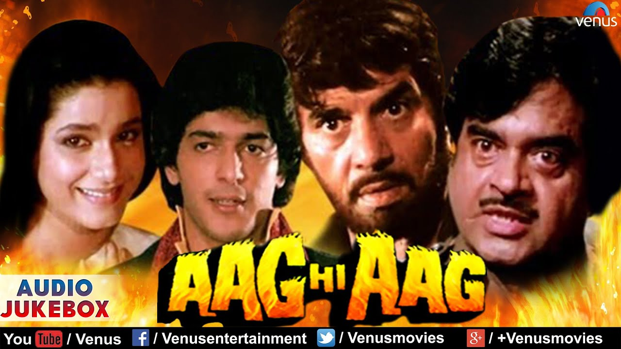 Aag Hi Aag Aag Hi Aag Full Songs Audio Jukebox Dharmendra Shatrughan