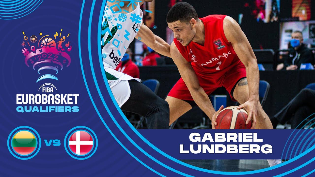Big Game w/ 28 PTS! Gabriel Lundberg (Denmark) -Player of the Game