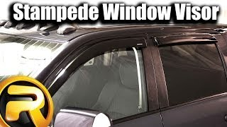 How to Install Stampede Tape On Window Deflectors