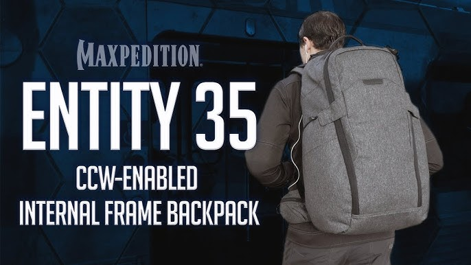 432b450e0 MAXPEDITION Entity 35 CCW-Enabled Internal Frame Backpack