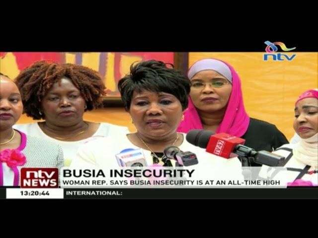 Busia woman rep. Florence Mutua, wants govt to beef up security in the border town