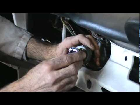 How To replace a classic Mustang Ignition Switch - YouTube