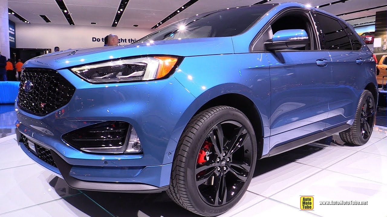 Ford Edge St Exterior And Interior Walkaround  Detroit Auto Show
