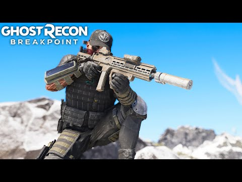 Ghost Recon Breakpoint LONG RANGE STEALTH SNOW SNIPER! Ghost Recon Breakpoint Free Roam