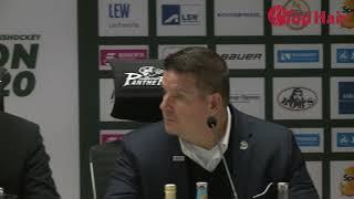 1878 TV | Pressekonferenz 27.09.2019 Augsburg - Straubing 4:5