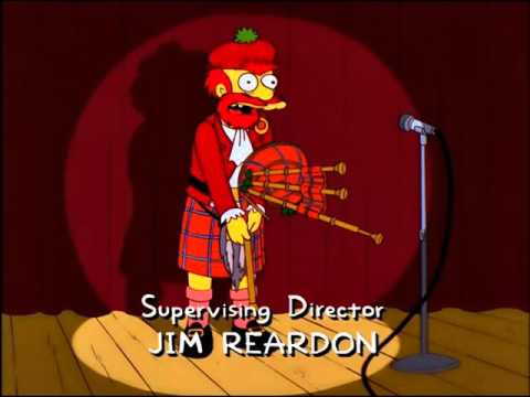 The Simpsons - Groundskeeper Willie Stand Up Routine