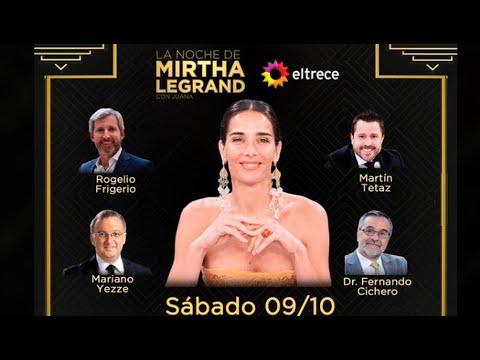 Download La noche de Mirtha con Juana - Programa 29 - 09/10/21