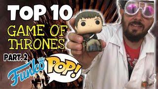 Top 10 Funko Pop Game of Thrones por el Dr Strategias 2 Parte