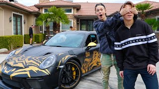 SURPRISING BEST FRIEND WITH DREAM CAR!!