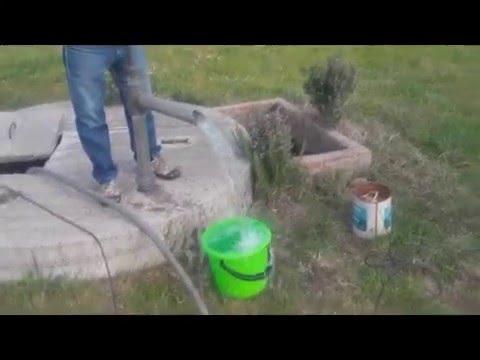 Bomba para sacar agua de pozos f caviedas youtube for Bomba de agua para pozo
