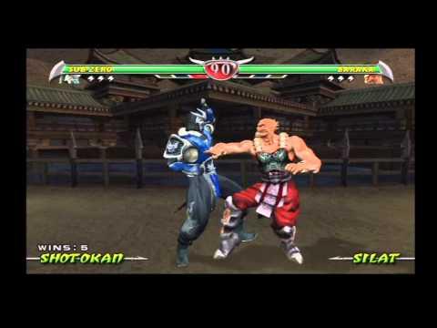 Mortal Kombat: Deception (PlayStation 2) Arcade as Sub-Zero