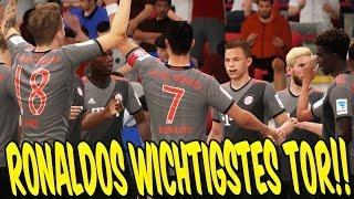 FIFA 17 KARRIEREMODUS - C. RONALDO WICHTIGSTES TOR! ⛔️⛔️ - GAMEPLAY BAYERN KARRIERE (DEUTSCH) #69