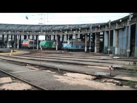 Dépôt de Villeneuve St Georges, SNCF locomotives