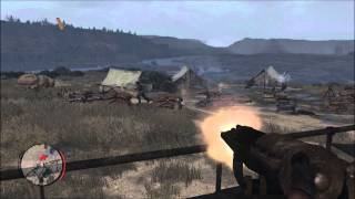 Xbox 360 Walkthrough - Red Dead Redemption - The Great Mexican Train Robbery