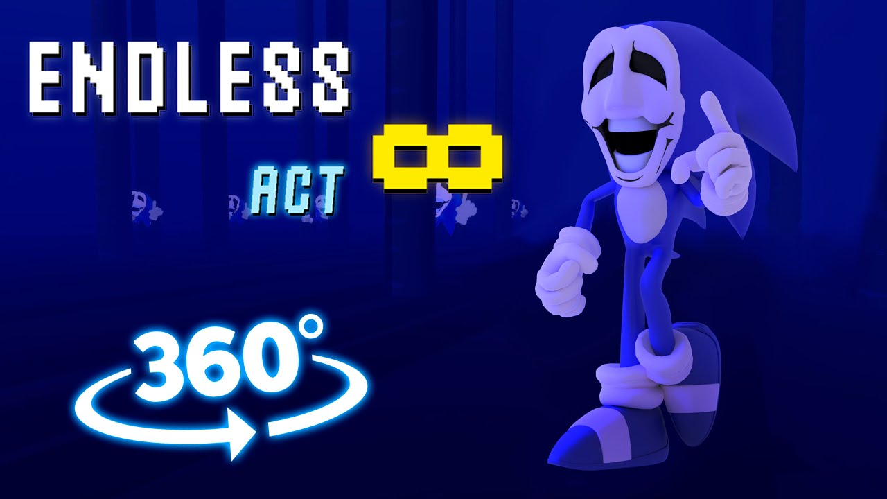 Download Sonic.exe 360° - Endless∞ 3D Animation  Friday Night Funkin'