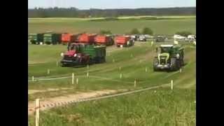 Xerion vs Quadtrac Traktordiena 2014