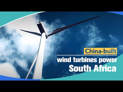 China-built wind turbines power South Africa